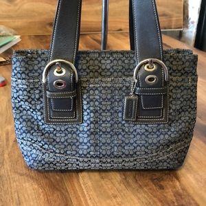 Coach Blue Signature C shoulder bag, purse